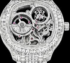 piaget tourbillon swiss white gold diamond piaget skeleton tourbillon replica