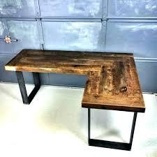 Modern Wooden Desks Rustic Wooden Desk Bethebridge Co