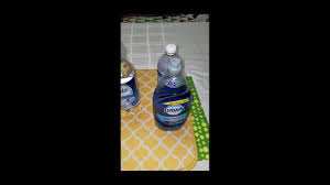 Baking Soda Upholstery Cleaner Diy Upholstery Cleaning Solution In Action Micro Fiber Ottoman