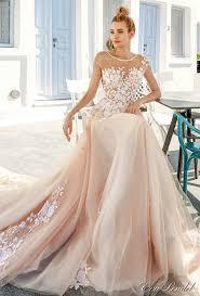 blush colored bridesmaid dress lendel 2017 wedding dresses santorini bridal caign