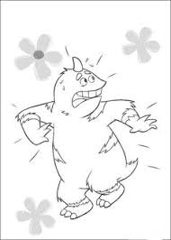 monsters university coloring pages 88 coloring pages