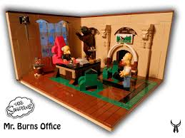 mr burns u0027 office by farkas1014 lego 1 pinterest lego