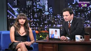 jimmy fallon rashida jones get into the spirit