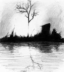 heidi schwartz landscape silhouette sketch