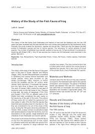 Banister Synonym History Of The Study Of The Fish Fauna Of Iraq Pdf Download