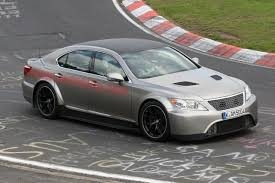 widebody lexus lfa widebody lexus ls spotted on the nurburgring automotorblog