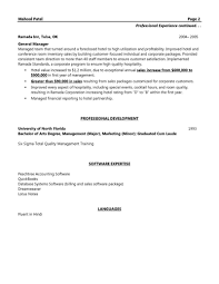 Resume Examples For Sales Manager 100 Keywords For Sales Manager Resume Best Operations