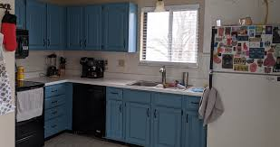 blue maple cabinets kitchen blue to black kitchen cabinets projects by at menards