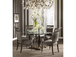 kitchen dining round glass table for small dining room fabulous small dining room decoration using gold white glass crystal chandelier over view original pic full large