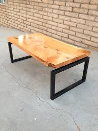 Build Wood Slab Coffee Table by 23 Best Live Edge Wood Slab Top Dining Tables Images On Pinterest