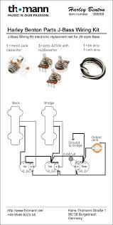 harley benton parts jb wiring kit thomann uk