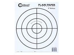 printable 8 5 11 targets shooting