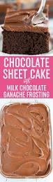 halloween sheet cakes chocolate sheet cake with milk chocolate ganache frosting brown