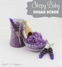 homemade lavender sugar scrub not that i need any help sleeping