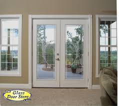 Blinds For Front Door Windows Plastpro French Doors French Door Fiberglass Front Doors