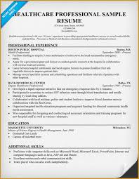 Healthcare Resume Examples by Resume Samples For Healthcare Professionals Recentresumes Com