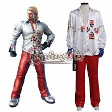 Steve Halloween Costume Aliexpress Buy Cosplaydiy Tekken 6 Steve Fox Cosplay Costume