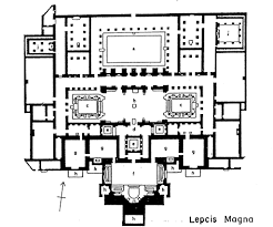 Roman Floor Plan by Four083 The Baths Of The Roman Emperor Hadrian At Lepcis U2026 Flickr
