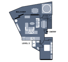 Golden Girls Floor Plan by Falls Creek Accommodation 4 Bedroom Apartment Huski