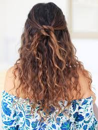 hair style of karli hair 9 easy on the go hairstyles for naturally curly hair byrdie au