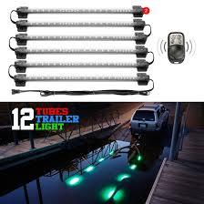 submersible led boat trailer lights 15 color 144 led remote control kit lights for boat trailer