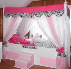 Modern Canopy Bed Modern Canopy Bed For Teenage Girl With Drapes Nytexas