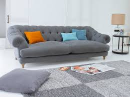 Sofas Chesterfield Style by 100 Linen Chesterfield Sofa Mulhouse Furniture Garcia