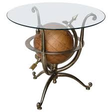 Gueridon Maison Du Monde Neoclassical Style Globe Side Table For Sale At 1stdibs