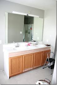 Adapt Vanity Remodelaholic How To Raise Up A Short Vanity