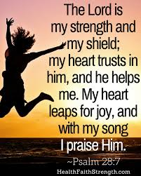 55 bible verses trusting god health faith strength