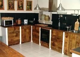 meuble cuisine en bois brut meuble cuisine bois naturel cuisine massif o la tradition meub