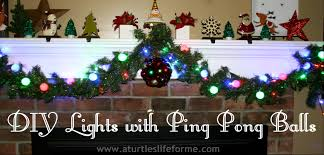 Christmas Light Balls For Trees by Diy Christmas Lights And Glitter Stars A Turtle U0027s Life For Me