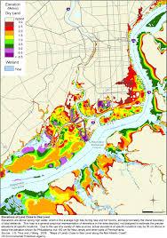 map of philly more sea level rise maps for pennsylvania