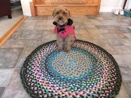 tappeto con tappi di sughero tappeto di magliette riciclo creativo