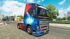 volvo truck 2004 galaxy skins for volvo truck for euro truck simulator 2
