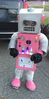 voice changer spirit halloween amazingly adorable diy pink robot costume homemade costumes diy