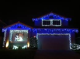 led blue lights with white cordblue