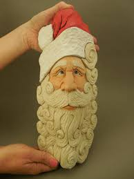 389 best wood carving images on santa ornaments