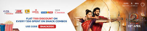 bookmyshow udaipur flat 100 discount on snack combos bookmyshow