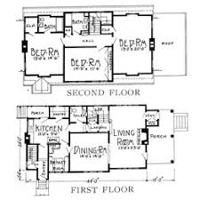 Dutch Colonial Home Plans Comparing Two House Plans 1925 Vs 2014 Wsj