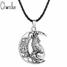 wolf necklace pendant images Chandler money wolf celtic moon viking dog necklace pendant jpg