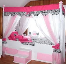 Pink Canopy Bed Canopy Bed Toppers Tent Large Size Of Topper Boys