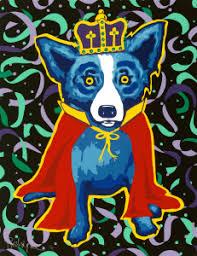 mardi gras dog rodrigue happy mardi gras george rodrigue studios