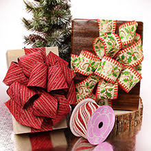 wide christmas ribbon wide christmas fabric wired ribbon shop ribbons