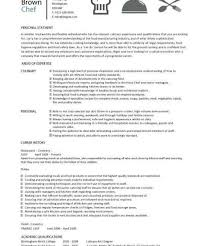 Example Of Chef Resume by Download Chef Resume Haadyaooverbayresort Com