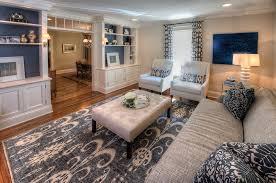 Ikat Ottoman Dining Room Inspiring Interiors Using Ikat Rug For Home Floors