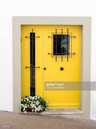 front door modern yellow front door modern metallic with safety gratings and a