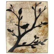 Branch Decor Metal Birds Wall Art Foter
