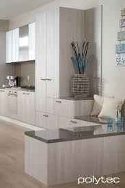 Laminate Kitchen Cabinet Doors Doors In Ravine Drifted Oak Bench Top In Laminate Grigio Marble
