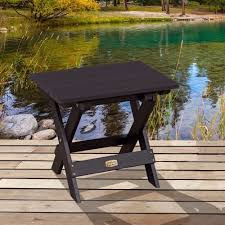 Outdoor Folding Side Table Outdoor Folding Side Table Highwood Usa